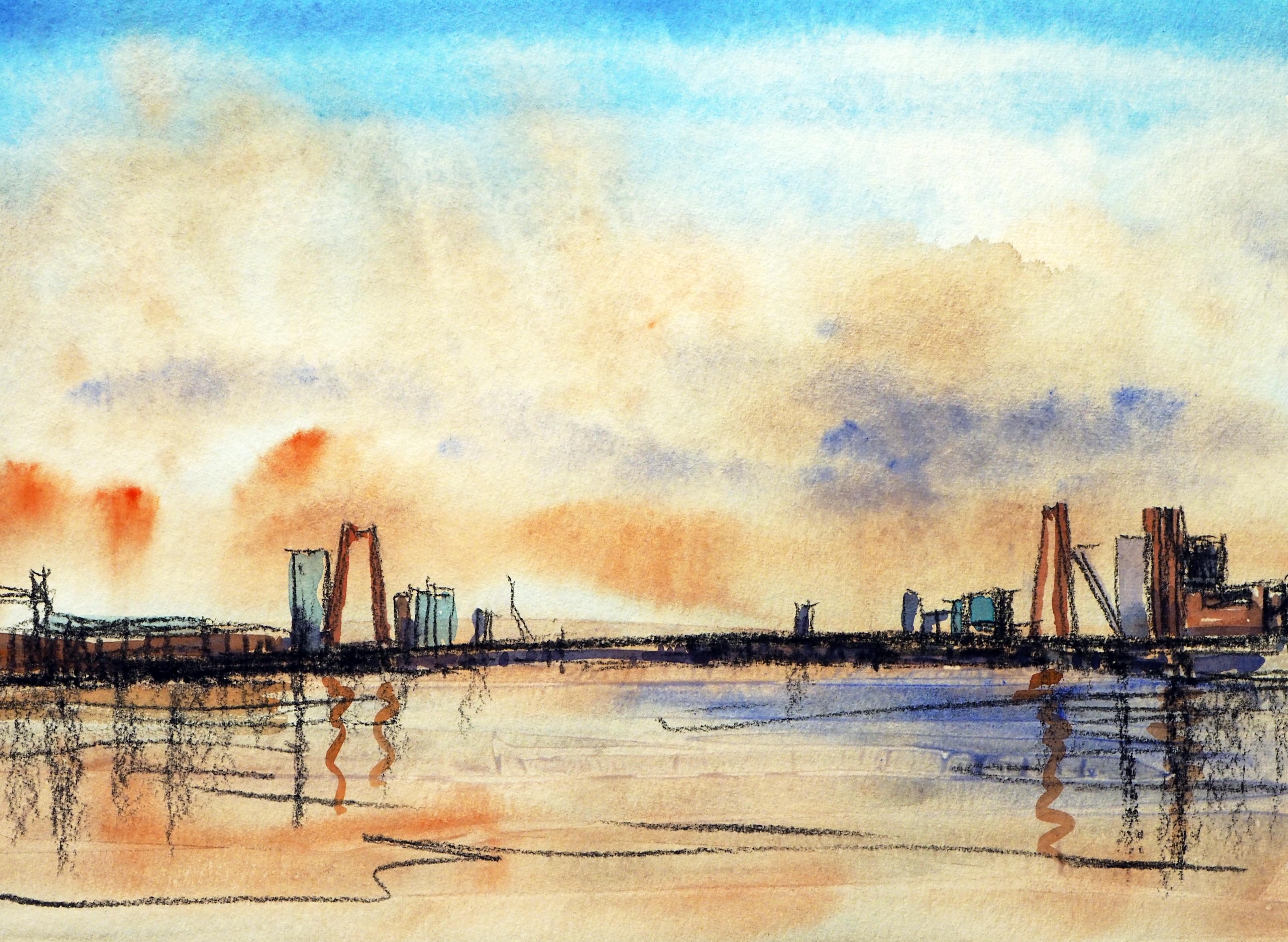 Willemsbrug avond