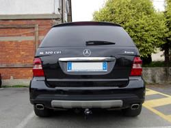 Installazione gancio traino a scomparsa su Mercedes-Benz ML320 CDI
