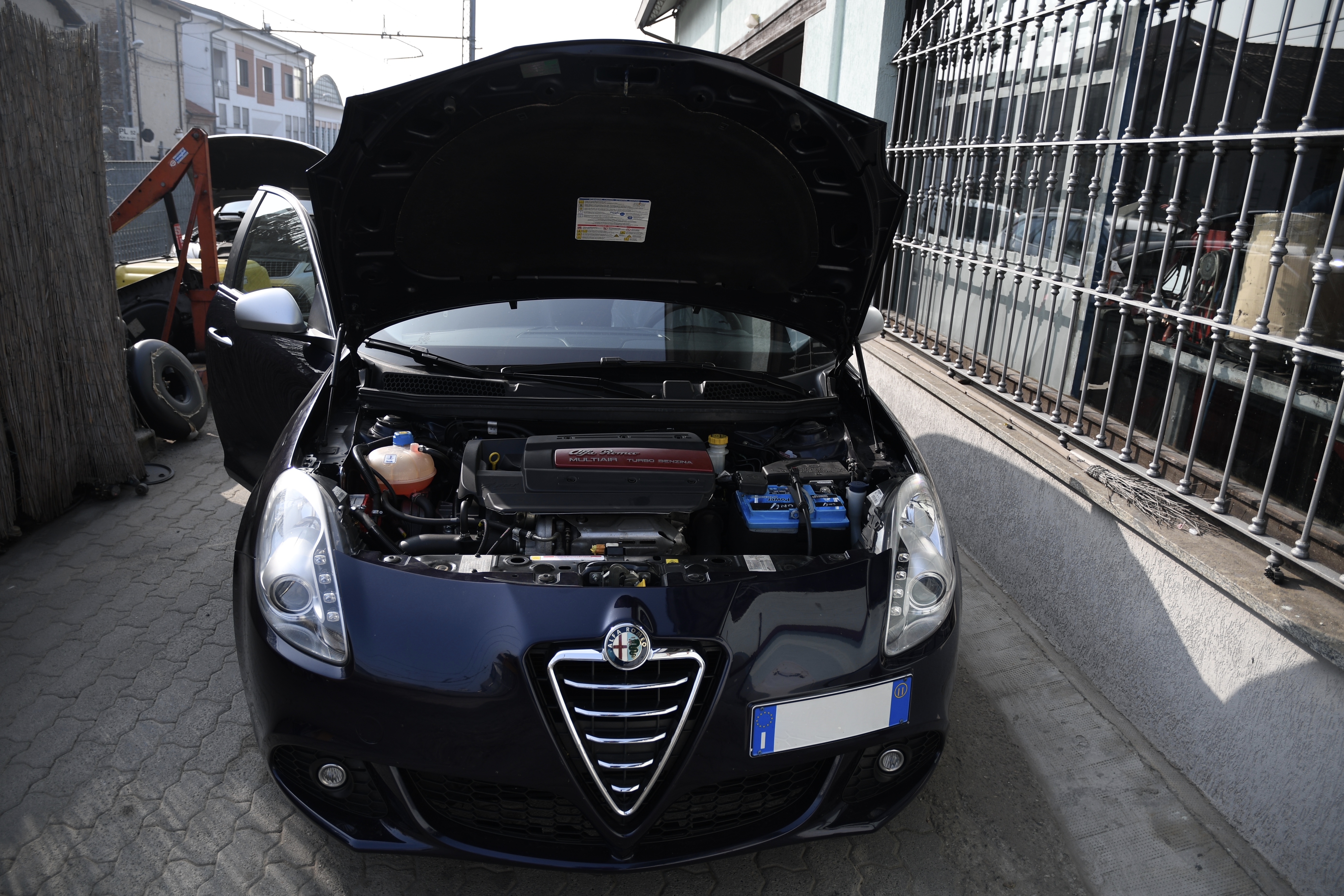 Impianto Gpl - Alfa Romeo Giulietta