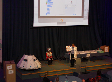 Double trouble at Hampshire Primary Computing Conference