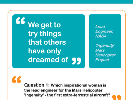 Question 1: Who is the Lead Engineer for the Mars Helicopter?
