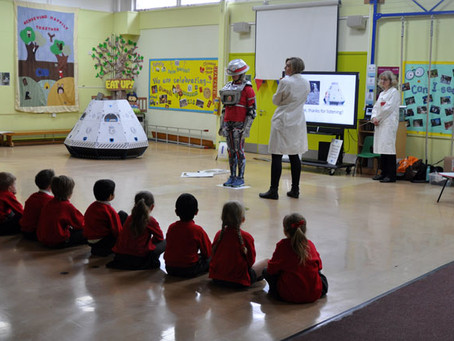 The launch of a new approach to coding in Primary School