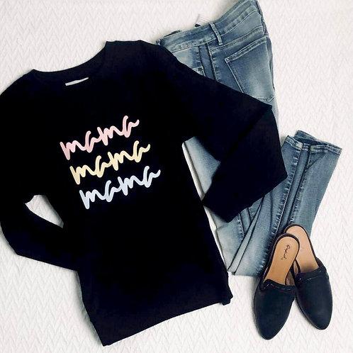 Graphic Sweatshirt mama mama mama