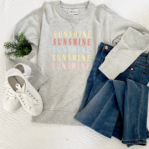 Graphic Sweatshirt Sunshine