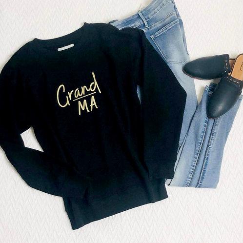 Graphic Sweatshirt Grand Ma