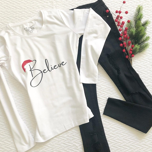 Graphic LS Tee Believe
