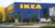 Photo taken from outside IKEA entrance.
