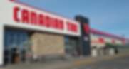 Canadian Tire Store from outside.