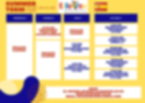 Yellow and Blue Simple Class Schedule-2.