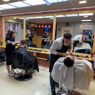 Мужская парикмахерская