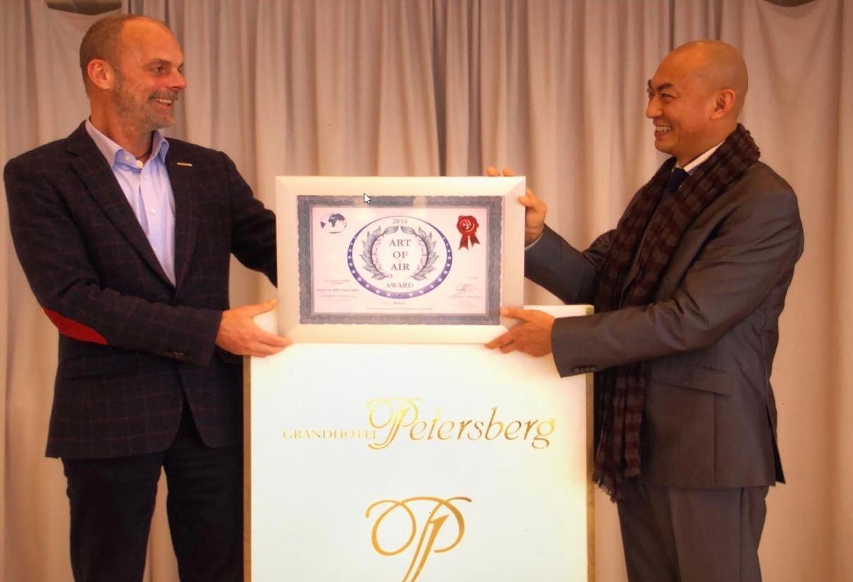 Art of Air Award ceremony