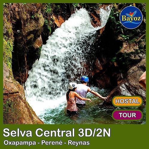 Selva Central 3D2N Oxapampa, Perené y Reynas