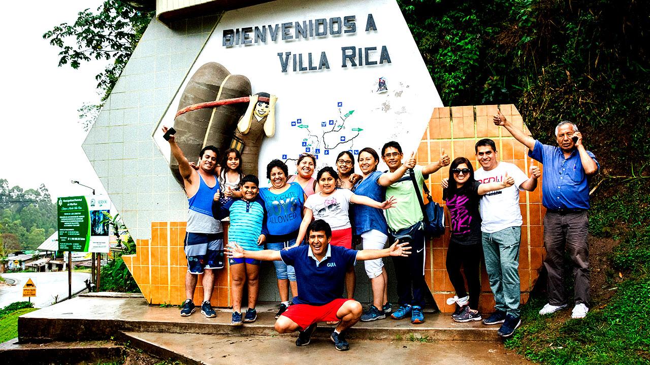 Portal de Ingreso a Villa Rica