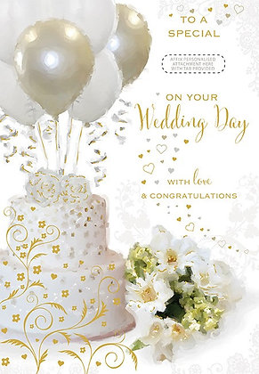 On Your Wedding Day - Personalise