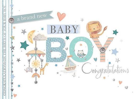 Baby Boy Congratulations