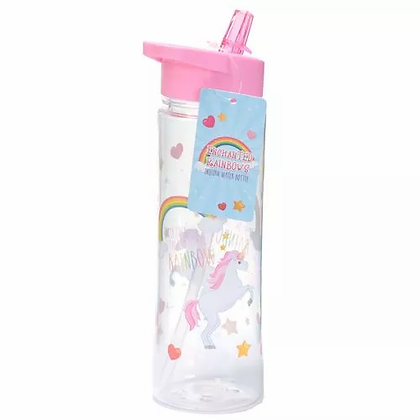 Rainbow Unicorn Water Bottle 500ml