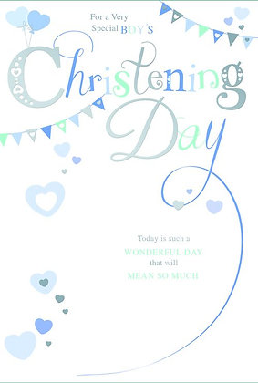 Baby Boy Christening Day