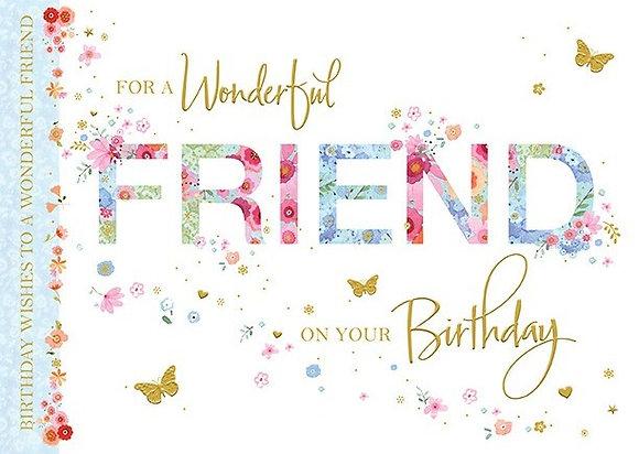 Wonderful Friend On Your Birthday