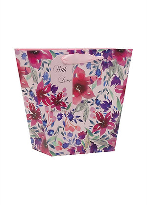 Floral Medium Gift Bag