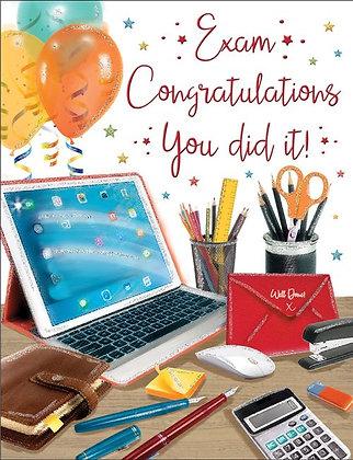 Exam Congratulations You Did It