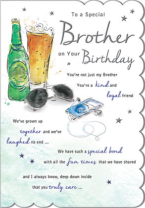 Brother On Your Birthday