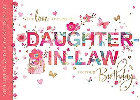 Daughter In Law On Your Birthday