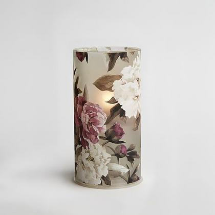 Peruvian Pink Floral Bio Oil Candle Lamp