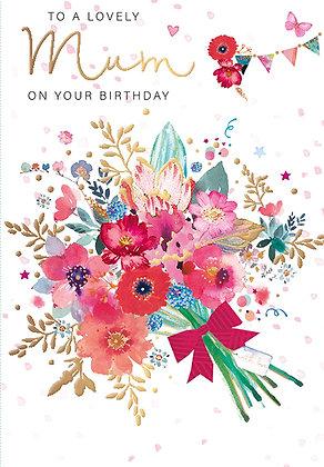Lovely Mum On Your Birthday