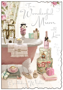 Jonny Javelin Wonderful Mum Birthday