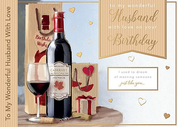 Husband Birthday