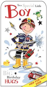 Jonny Javelin Special Little Boy - Fireman