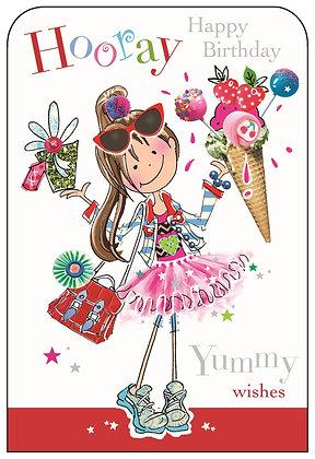 Jonny Javelin Hooray Happy Birthday - Ice Cream