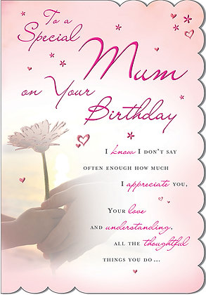 Special Mum On Your Birthday