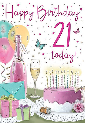 21 Today Birthday