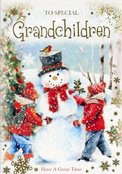Grandchildren Christmas