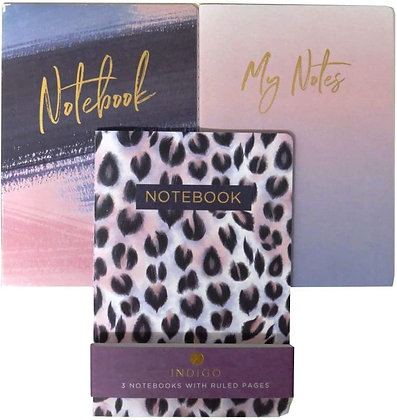 3 Pack A5 Notebook
