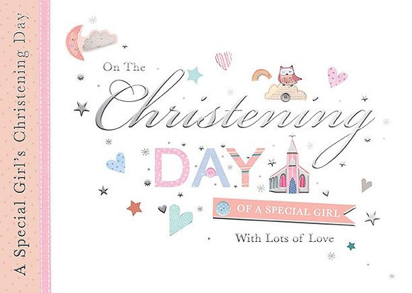 On The Christening Day Of A Special Girl