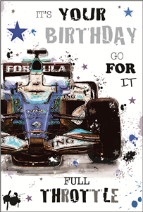Jonny Javelin Happy Birthday - F1