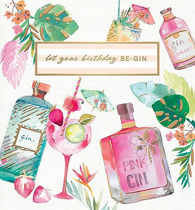 Let Your Birthday ..... BE-GIN