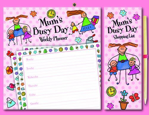 Mum's Busy Day Weekly Planner