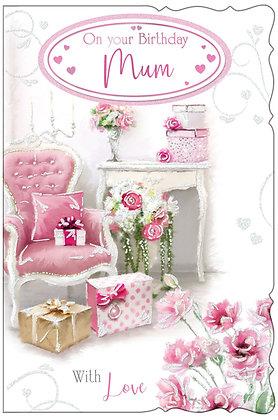 Mum 8 Page Birthday Keepsake
