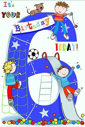 Boy Age 6 Birthday