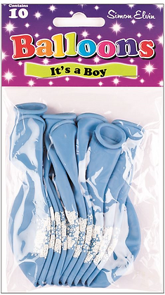 "10 x 9"" It's A Boy Balloons"