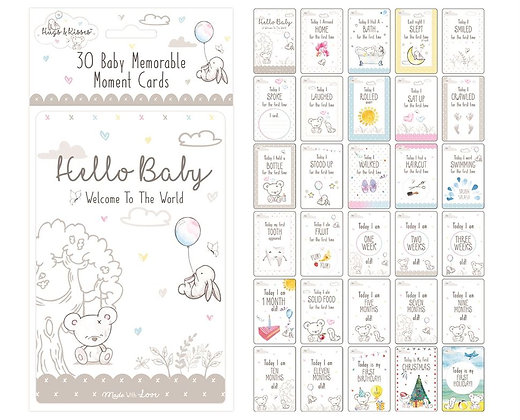 30 Memorable Moments Baby Cards