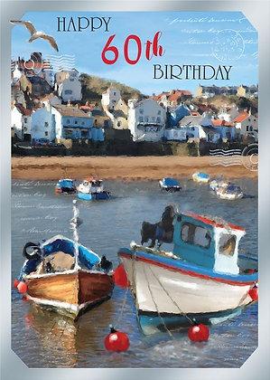 Happy 60th Birthday - Boats