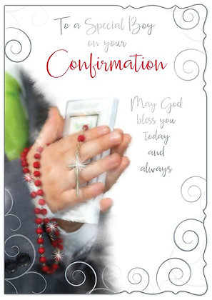 Special Boy On Your Confirmation