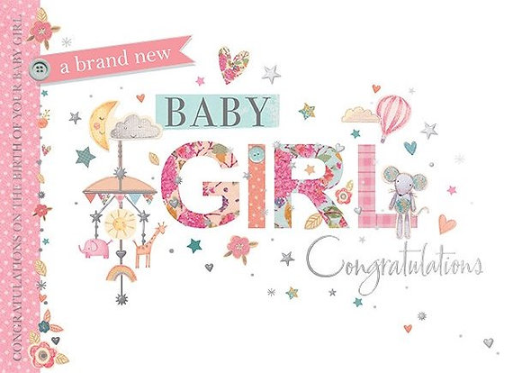Baby Girl Congratulations
