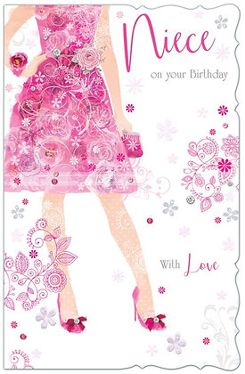 Niece On Your Birthday - Large