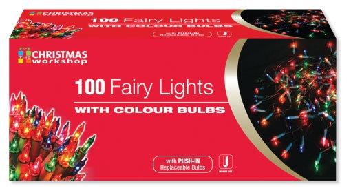100 Multi Colour Fairy Lights