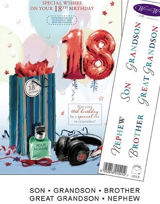18th Birthday - Personalise